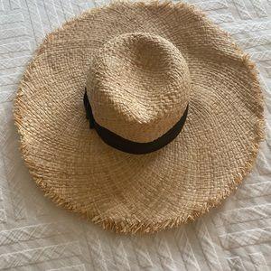Kate Spade, wide brim, straw hat